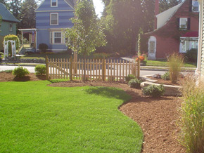 Landscaping & Hardscapes - Custom Homes, Fine Woodworking & Remodeling in New Hampshire