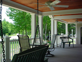 Porches & Decks - Custom Homes, Fine Woodworking & Remodeling in New Hampshire