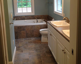 Custom Bathrooms and Remodeling Services by Silvia Homes in Bedford, NH