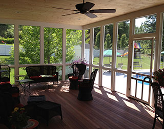 Custom Decks and Porches and Remodeling Services by Silvia Homes in Bedford, NH